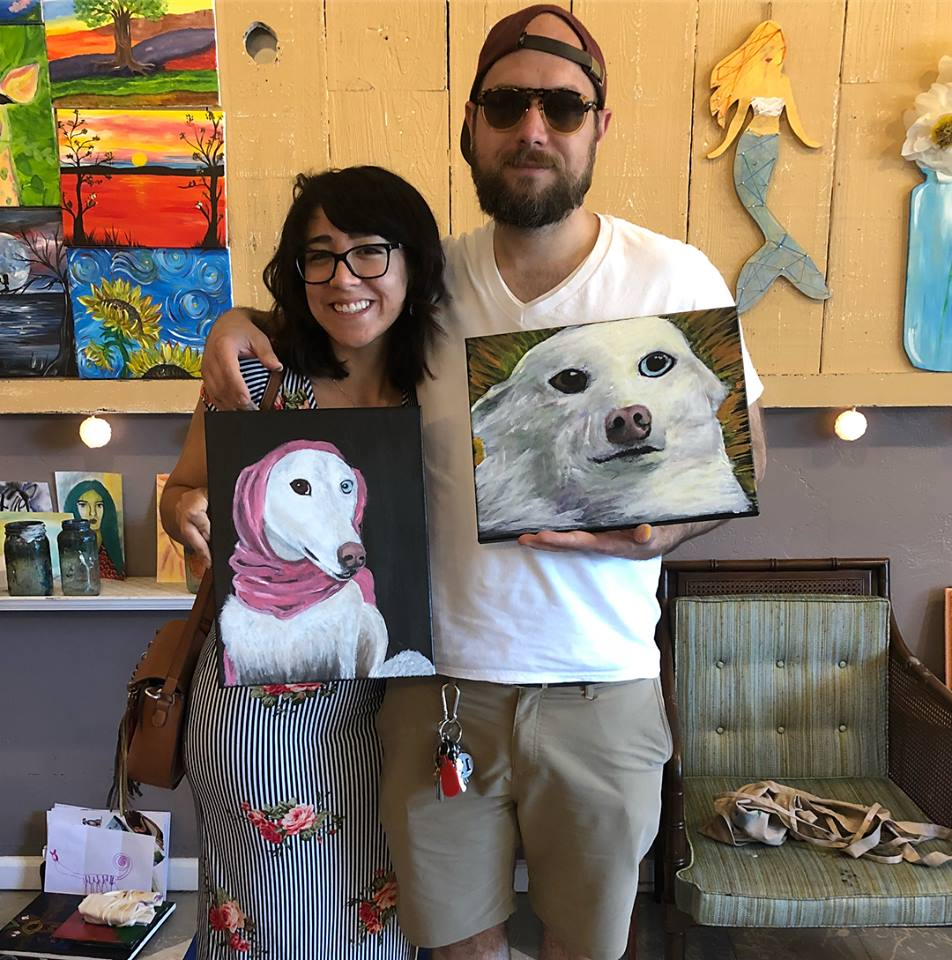 Pacific Grover Paint & Sip Date