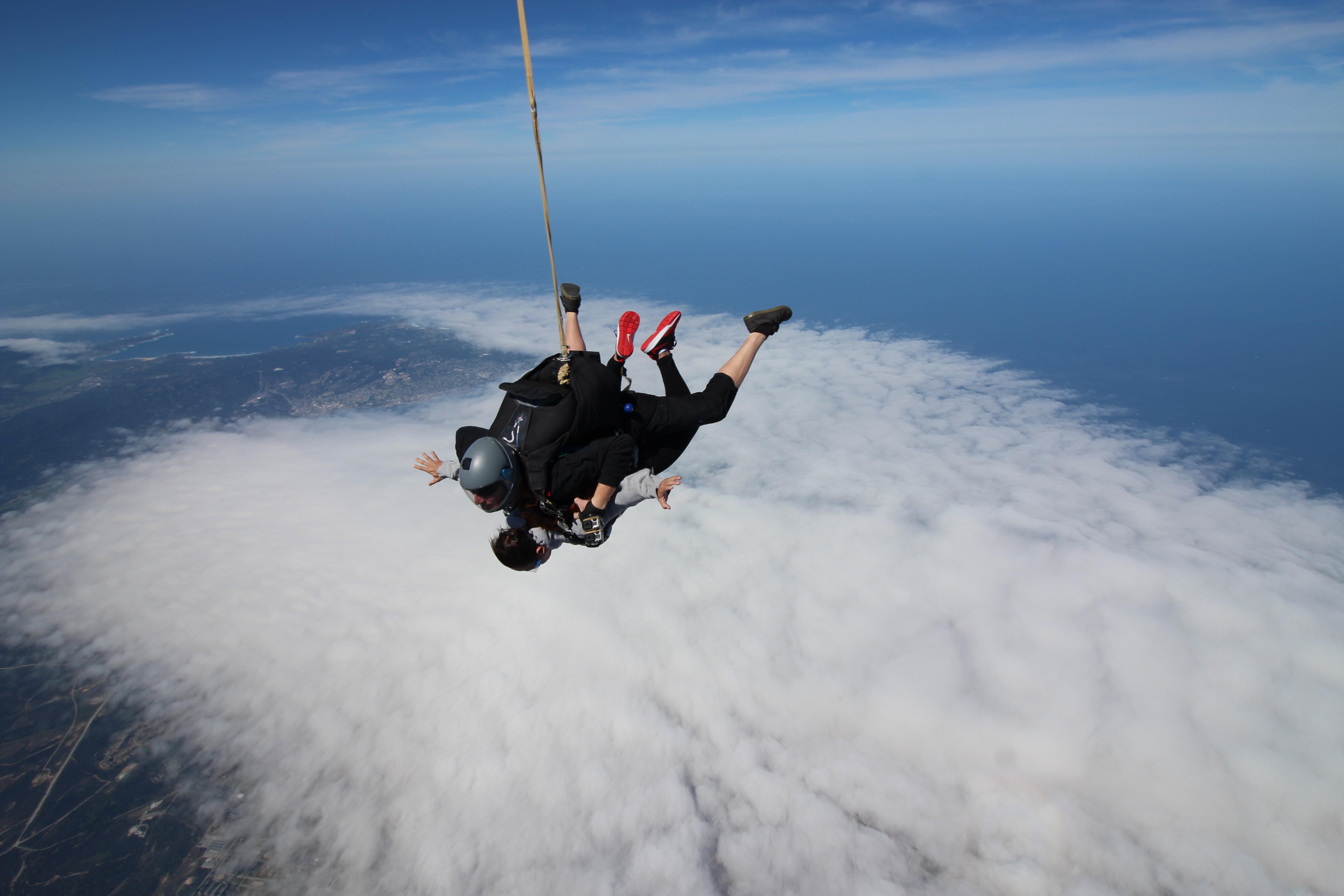 Monterey Date Idea for Adventurers: World's Highest Tandem Jump at Skydive Monterey Bay