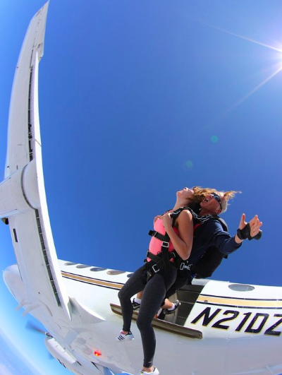 Top 3 Airplanes to Skydive From