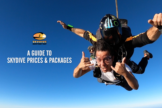 A Guide to Skydiving: Prices & Packages